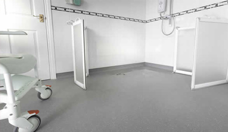 Commercial Wet Room Flooring